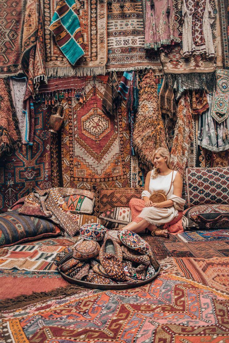 TRAVEL DIARY: Cappadocia, Turkey |Rug Store | Carpet Store | Göreme | Türkei…