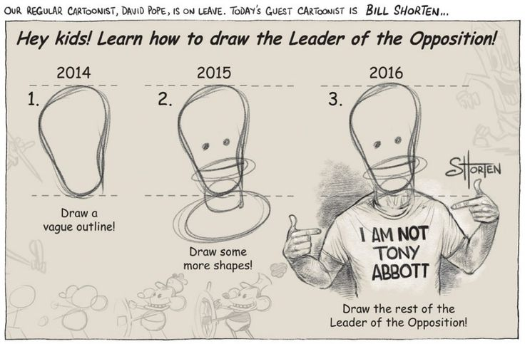 THE CLAYTON LABOR PARTY LEADER BILL SHORTEN Cartoon by DAVID POPE.