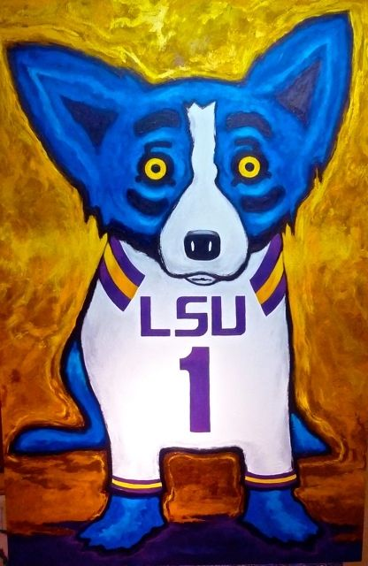 George Rodrigue Blue Dog Artwork!  One of my all time favorite artists!