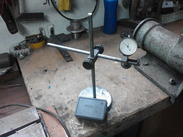 statyw magnetyczny do czujnika zegarowego samoróbka