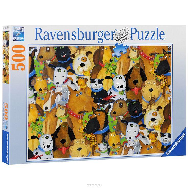 Ravensburger Веселые собаки. Пазл, 500 элементов
