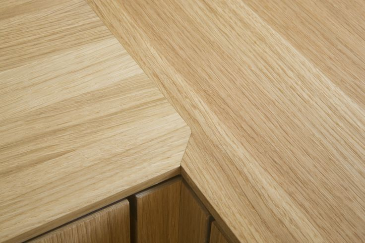 Details in oak wood - from Tuborgvej