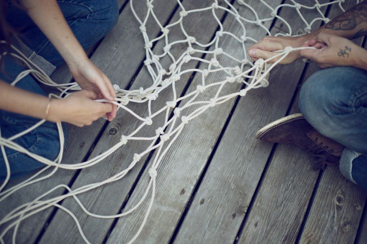 How to make a hammock by Kinfo