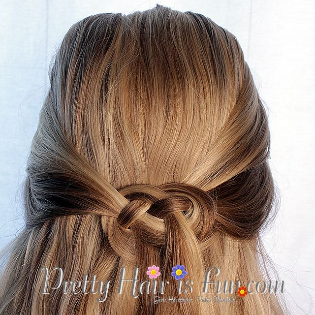 Pretty Hair Is Fun Celtic Knot Or Infinity Braid Hair Braids Hairstyles Updos Wedding Prom