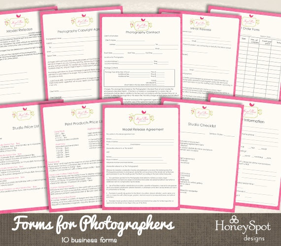 8 best Photography Forms images on Pinterest Templates, Lyrics - business forms templates free