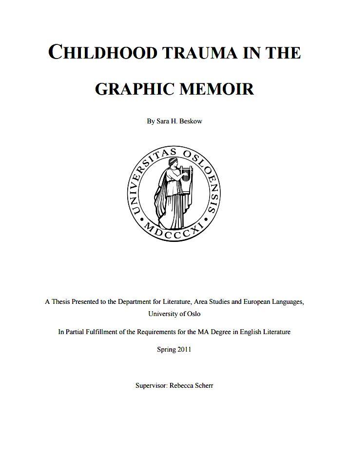 Dov gordon phd thesis