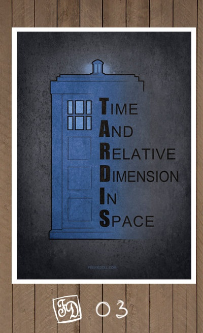 Doctor Who poster /choose one/ Amy 11th  TARDIS by koroa on Etsy, $15.00
