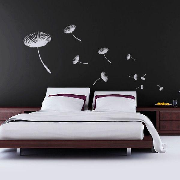 20coole ideen wandaufkleber design schlafzimmer männchen