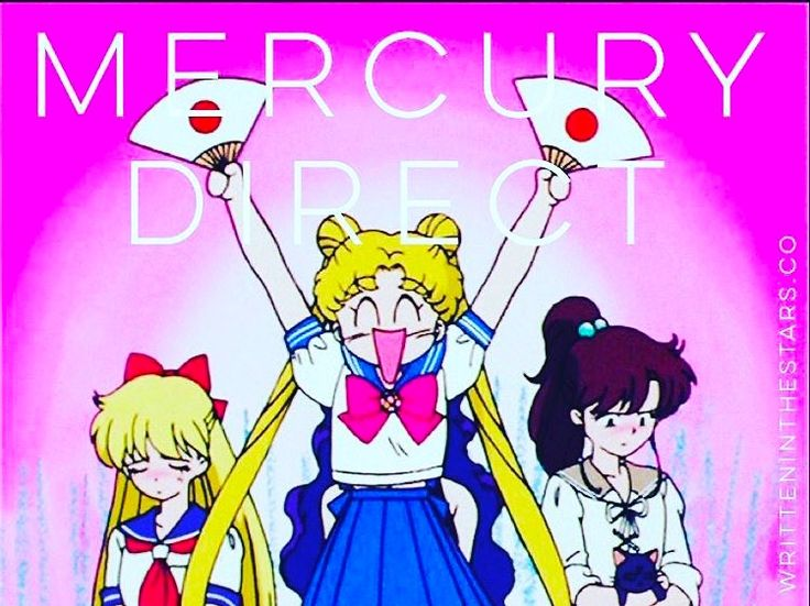 Hallelujah! Mercury has officially left retrograde but is still in its shadow phase so dreams delayed or deferred will slowly start to pick up and gain momentum over the next three weeks and postponed initiatives will begin to show growth! YES I am this person around my friends when it comes to astrology...and DEFINITELY when it comes to Sailor Moon!  Sailor Moon geeks unite!  #astrology #horoscope #horoscopes #writteninthestars #mercuryretrograde #mercurydirect #mercuryrx #sailormoon…