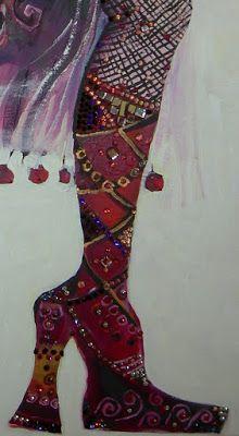 ♥ Red stiletto