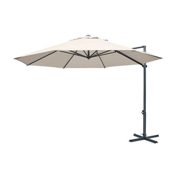 Cantilever Umbrella 3.3 Octagonal Taupe