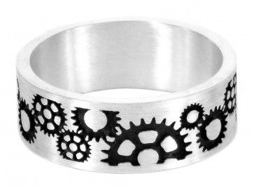Sprocket I ring in sterling silver - $440 Cycling, bike, bicycle