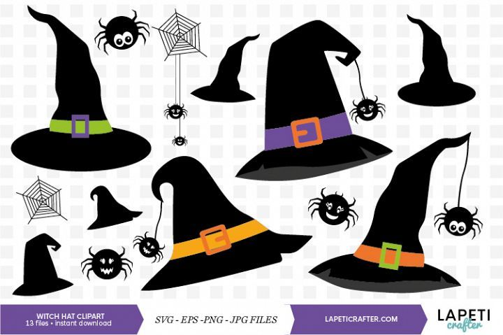 Halloween Witch Hat Halloween Hat Witch Hat Hat Clipart Cool Hat Horror Halloween Witch Hat Png Transparent Clipart Image And Psd File For Free Download Halloween Hats Halloween Flying Witch Halloween