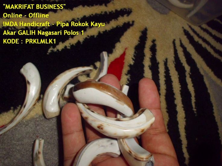 Pipa Rokok KERANG Macan Tutul Model Minimalis | Jember Handicraft by MAKRIFAT BUSINESS Sentral Kerajinan Handicraft Khas Desa TUTUL Jember Indonesia