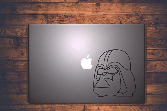 Darth Vader || MacBook sticker || our online store: www.etsy.com/it/shop/PasteITsticker || our facebook page: https://www.facebook.com/pasteit.it || #pasteit #sticker #stickers #macbook #apple #blackandwhite #art #drawing #custom #customize #diy #decoration #illustration #design #technology #computer #pc #censored #concept #idea #minimalist #decal #skin #cover #laptop #darthvader #starwars #scifi #force #movie #character