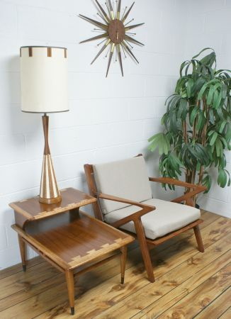 san francisco the 50s 60s mid century lane acclaim two level end table 199