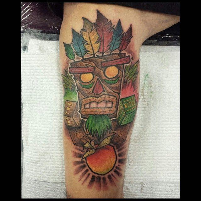 25 best images about aku aku tattoo on pinterest for Aku aku tattoo