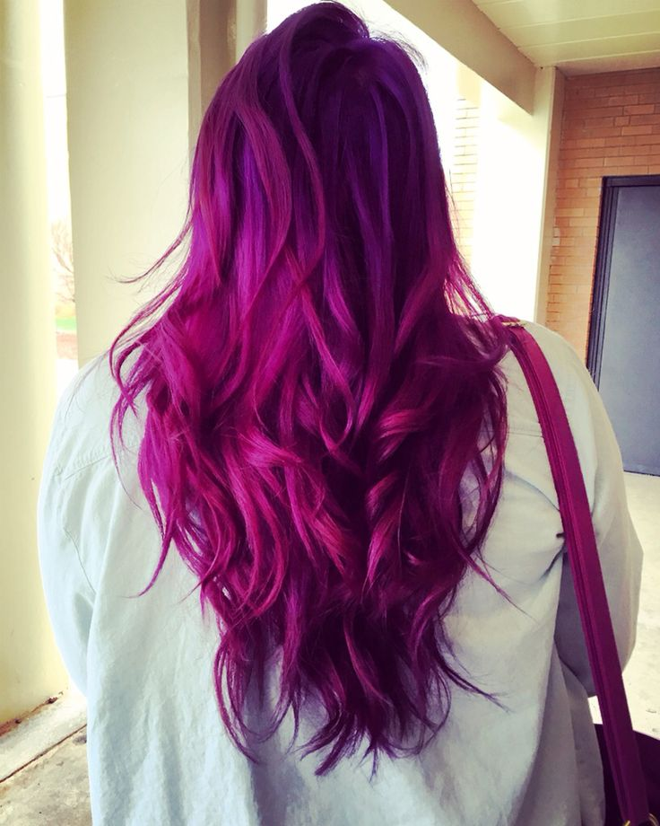 Pink and purple hair                                                                                                                                                                                  More