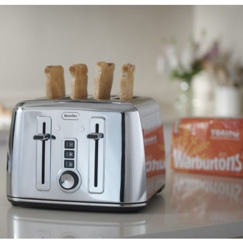 The Breville® Perfect Fit for Warburtons 4 Slice Toaster #toaster #toasttothetop #warburtons #breakfast