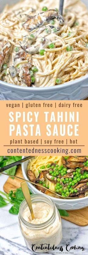 Spicy Tahini Pasta Sauce