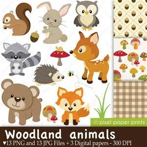 woodland creature cut outs - Yahoo Search Results