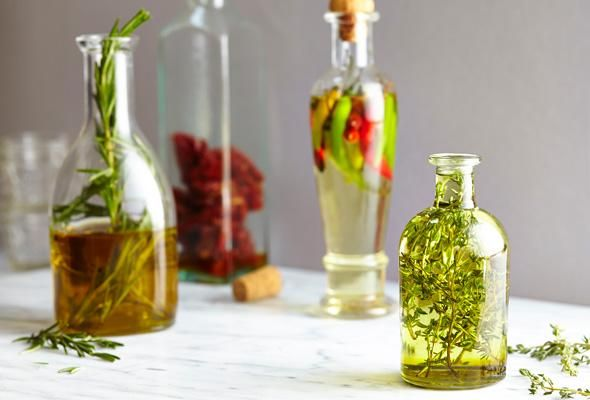 how to make thyme infused olive oil