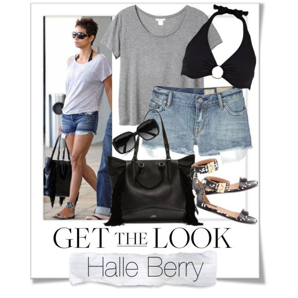 """""""Get The Look - Halle Berry"""" by renatademarchi on Polyvore"""