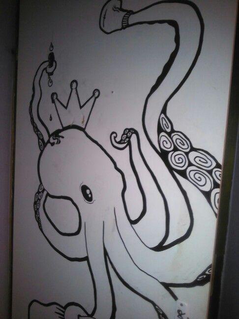 Octopus , door 1