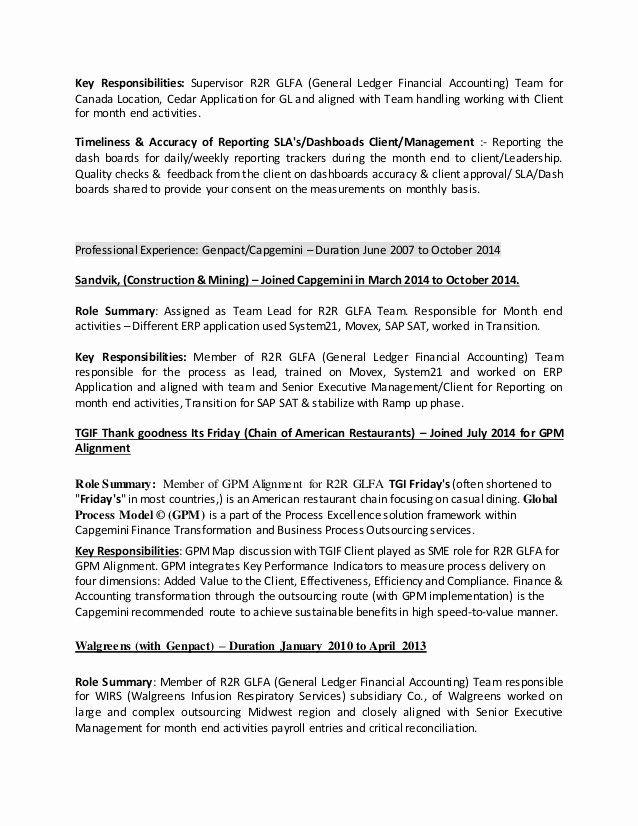 General Ledger Accountant Resume Unique Resume In 2020 Accountant Resume General Ledger Resume Updating