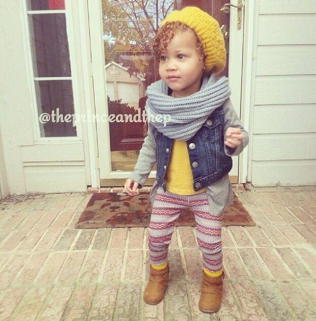 Toddler girl winter fashion