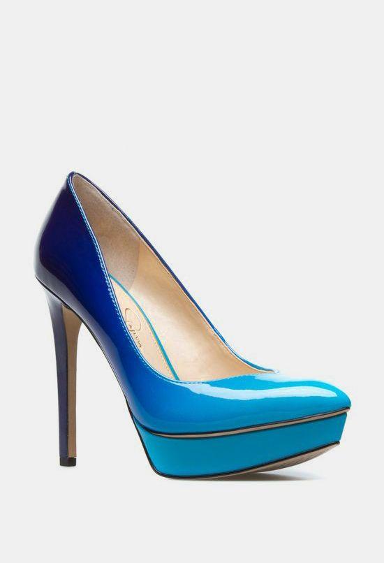 Venisse Pump: Dressyours Pumps, Crazy, Blue Ombre, Venisse Pumps, Ombre Pumps, Veniss Pumps, High Heels, Accessories, Shoes Heels