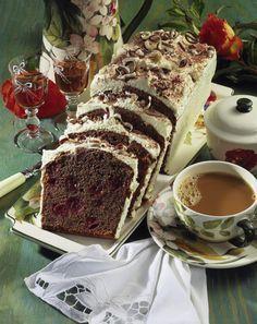 Cappuccino-Kuchen mit Kirschen – Rezepte