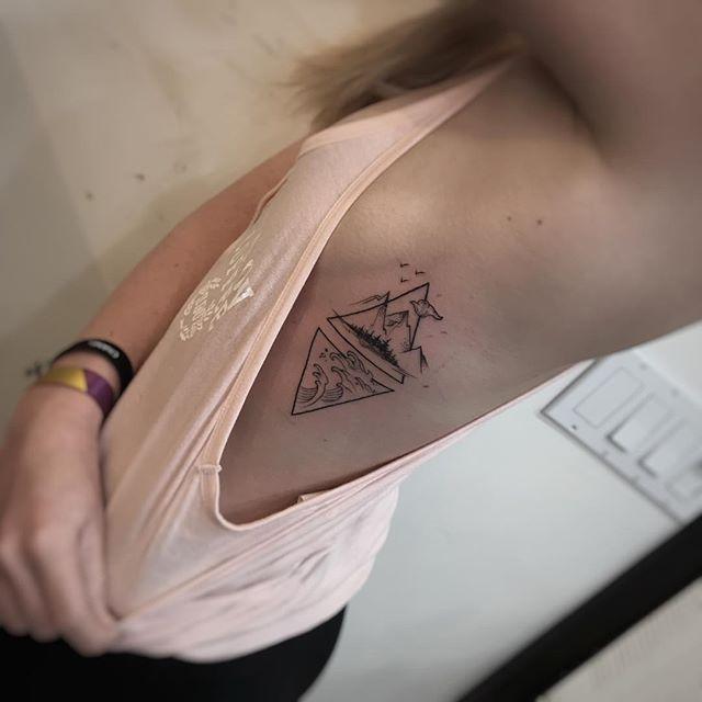 Vor ein paar Tagen haben wir Ihnen die Hälfte des Geschwisterpaares gezeigt, das passende Tattoos hat