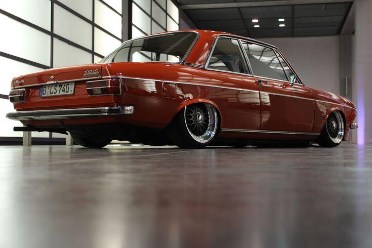 Audi 100 C1: Oldschool's Lowest  http://www.autotuning.de/audi-100-c1-oldschools-lowest/ Audi, Audi 100, Auto Union, C1, Klassiker, Oldschool, Oldtimer