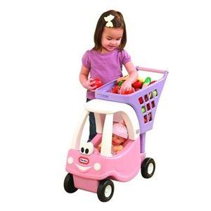 Carrinho de Compras Coupe Rosa -  Little Tikes - www.bebeweb.com.br