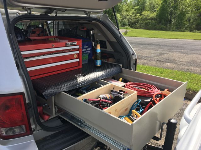 Jeep WK rear storage solution. – Combatting short product lifecycles