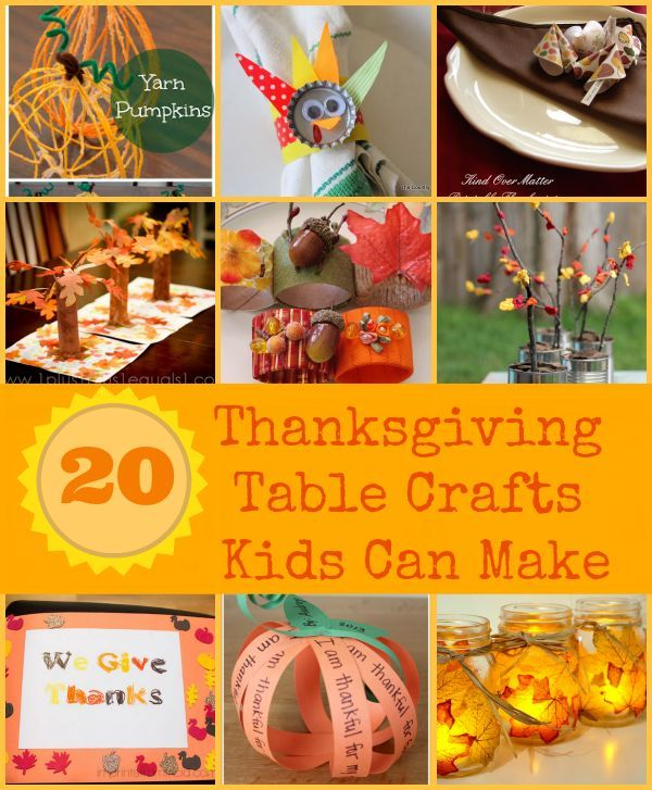 Thanksgiving Crafts Kids Can Make Kids Crafts Crafts