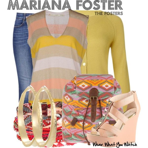 Inspired by Cierra Ramirez as Mariana Foster on The Fosters.