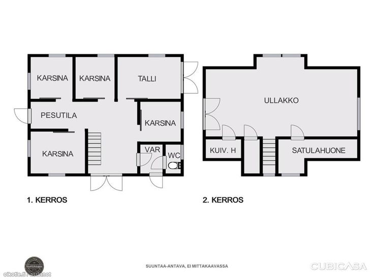 320 m² Pirunkallio 49, 03600 Karkkila Omakotitalo 5h myynnissä - Oikotie 13859943