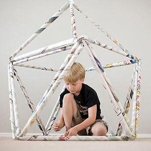 Manualidad: Casita de juegos de papel - Manualidades para niños - Página 2 - Charhadas.com