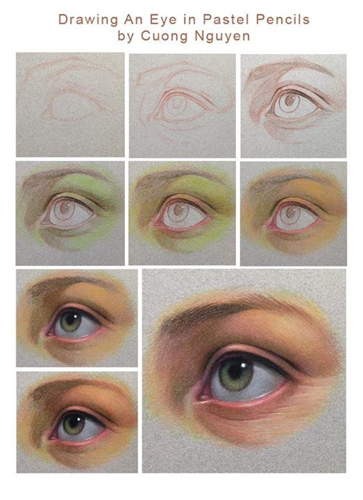 Eye step by step by Cuong Nguyen https://www.facebook.com/icuong?fref=photo