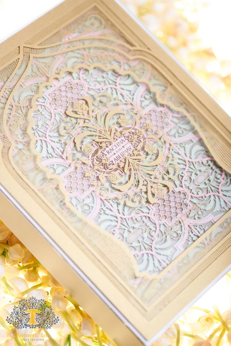 33 best Laser Cut Invites images on Pinterest | Indian bridal ...
