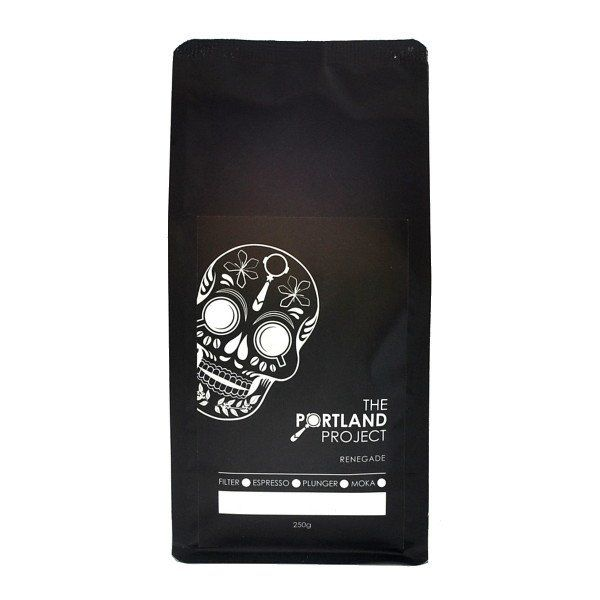 The Portland Project's seasonal blend is beautifully balanced and will make a delicious espresso or filter brew