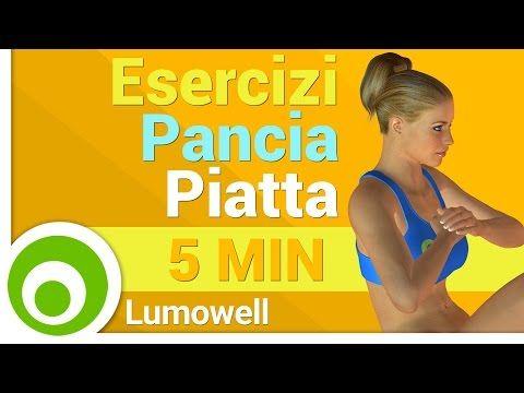 Addominali per donne. 5 minuti di esercizi a corpo libero per la pancia - YouTube