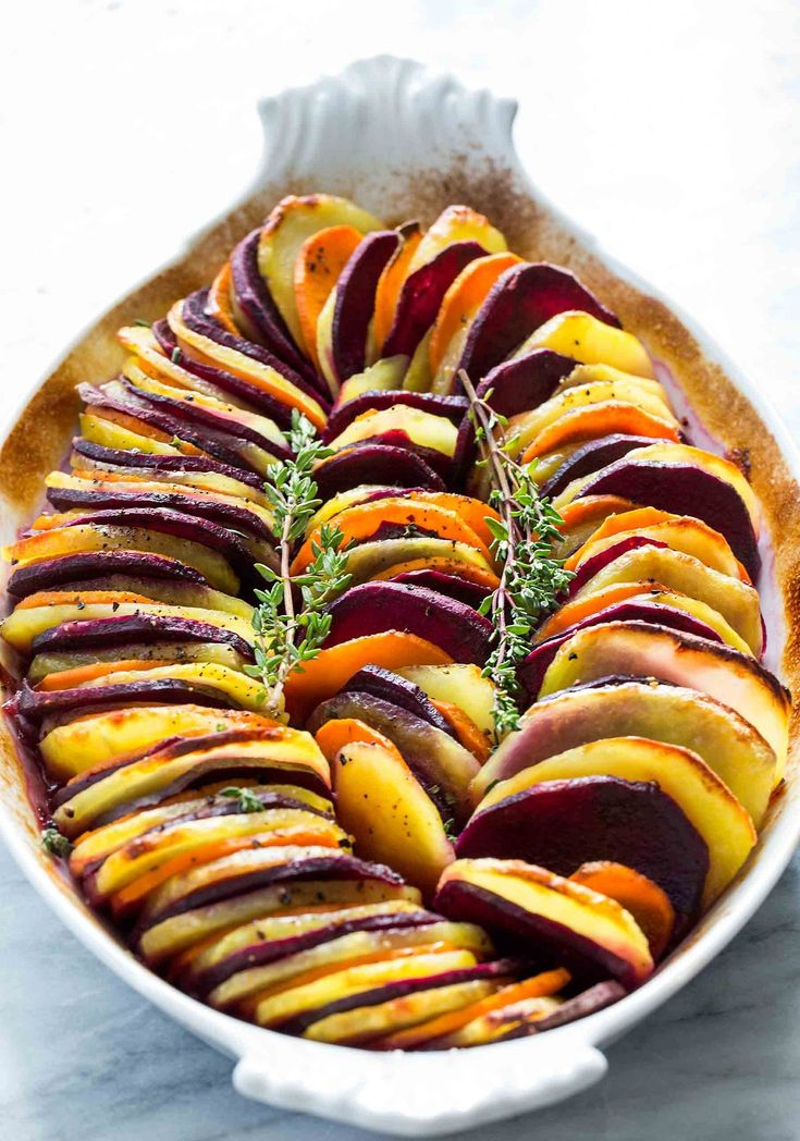 Sweet Potato and Yukon Gold BakeFollow for recipes Get your FoodFfs stuff here