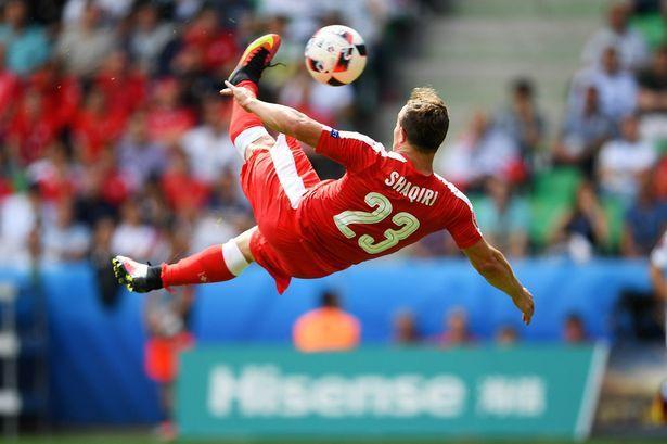 The Swiss commentary for Xherdan Shaqiris golazo v Poland was epic (Audio)