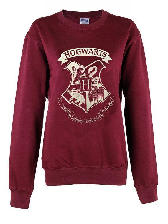 Harry Potter Hogwarts Logo meester van de dood driehoek overhemd vrouwen dames afdruk sweatshirt