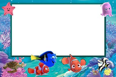 Finding Dory Invitations Printable Invite Party Ideas