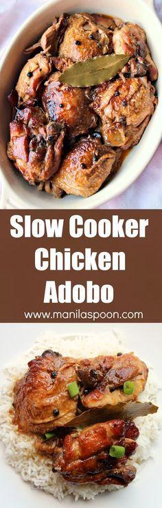 25+ best ideas about Chicken Adobo Filipino on Pinterest | Chicken ...