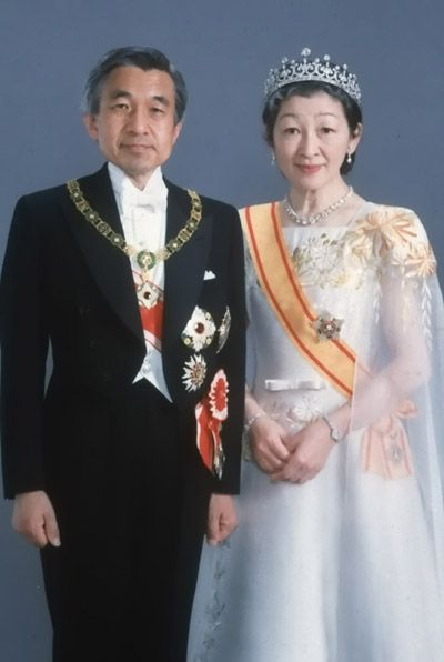 Japan's Emperor and Empress